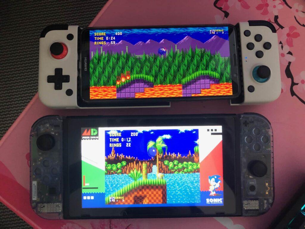 GameSir x2 vs nintendo switch